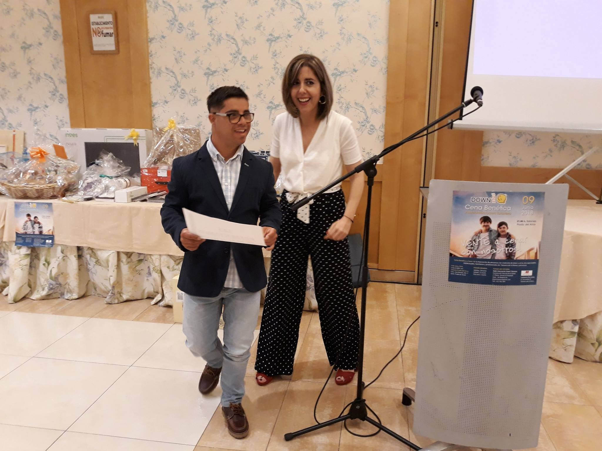 Cena Down Talavera 2018