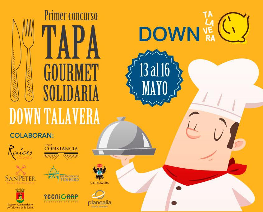 Primer Concurso de Tapa Gourmet Solidario Down Talavera